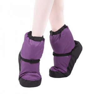 Warm up Booties - Purple