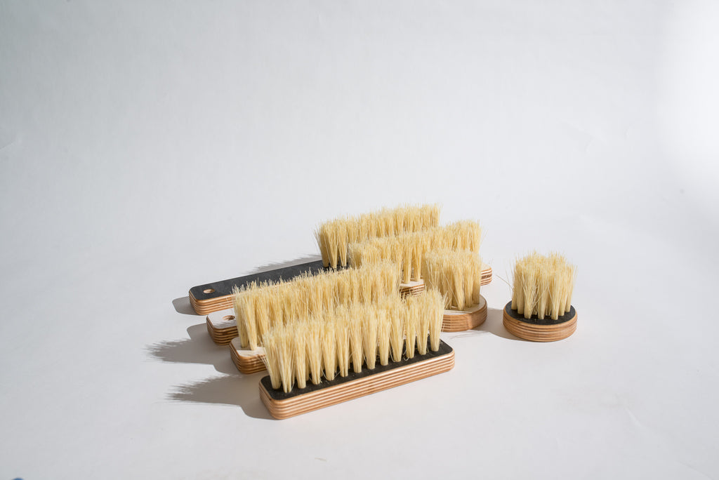 Counter Brush / White Birch Tampico