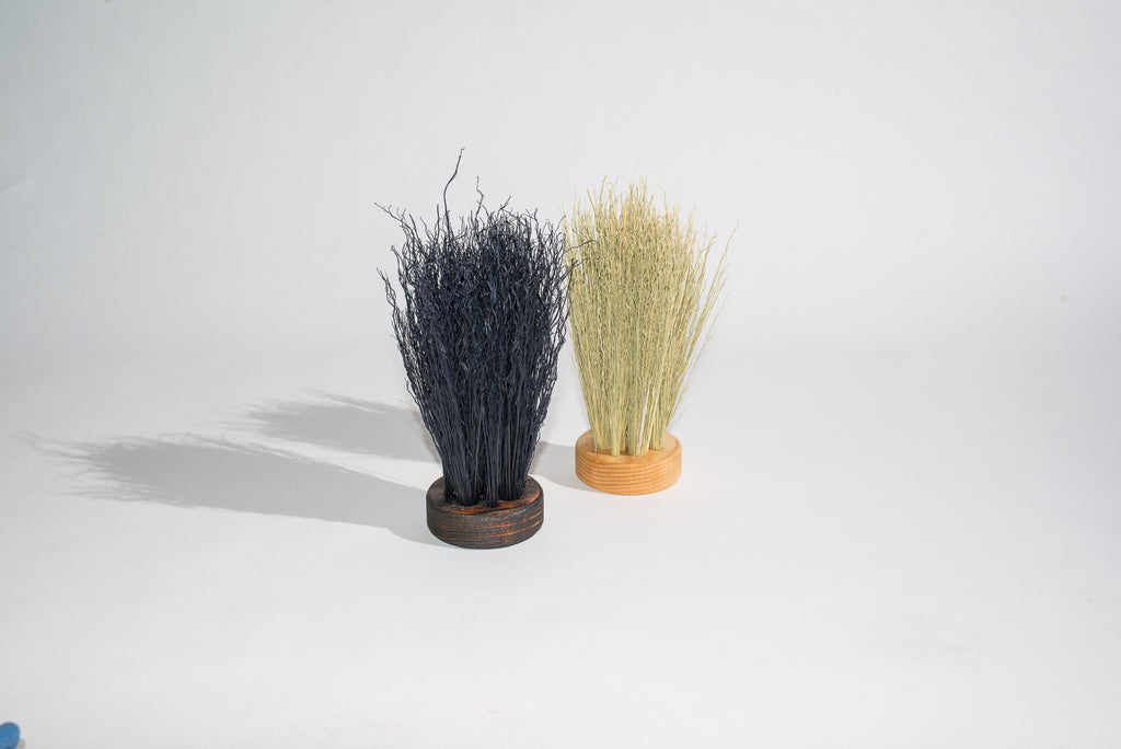 Puck Brush / Black Broomcorn