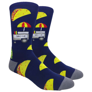The Taco Stand (Navy/Grey)