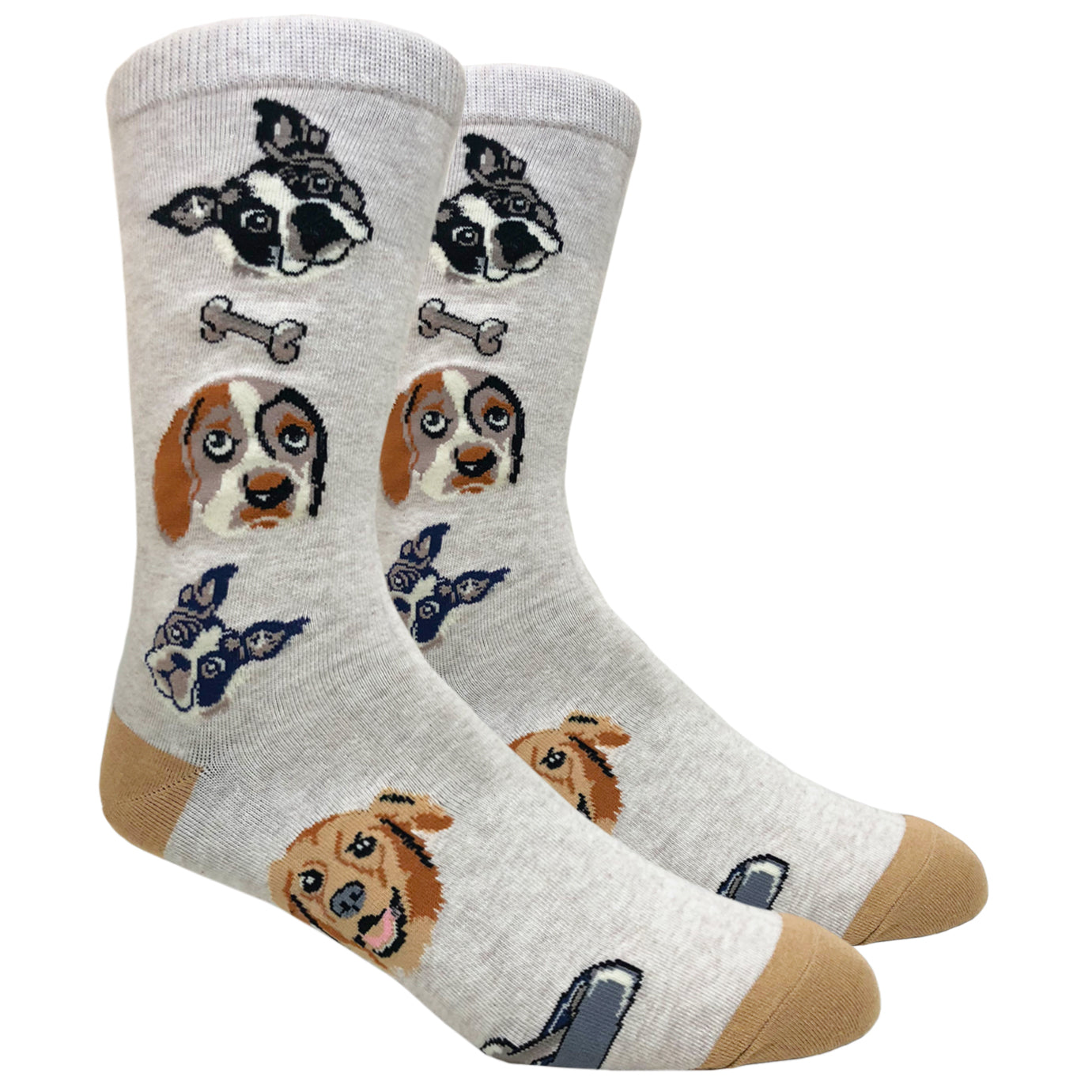 Dog Lovers (Beige)