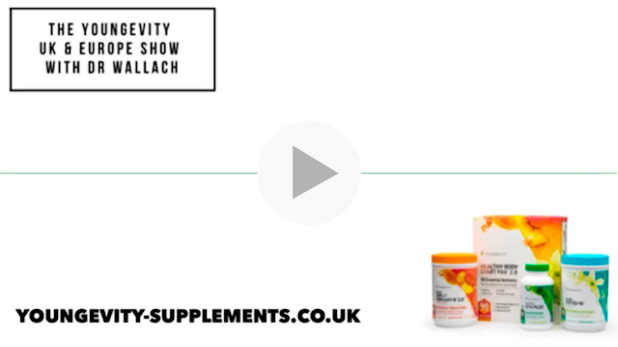 The Youngevity UK & Europe Show with Dr. Wallach - Heartburn
