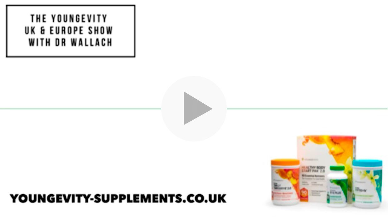 The Youngevity UK & Europe Show with Dr. Wallach - Fruit & Veg Every Day