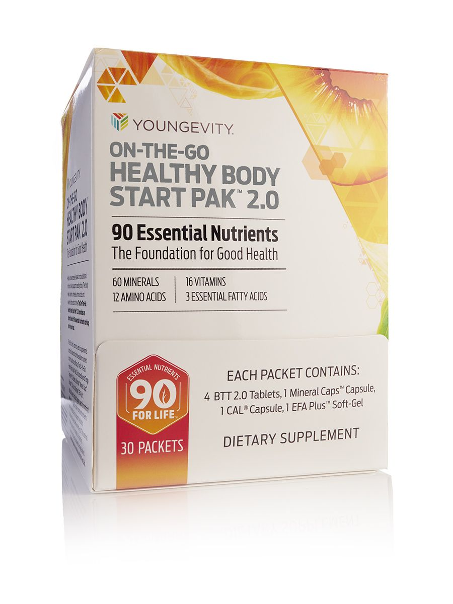 On-The-Go Healthy Body Start Pak™2.0 - 30 packets