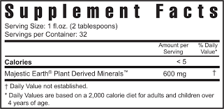 Plant Derived Minerals™Liquid 32 fl oz