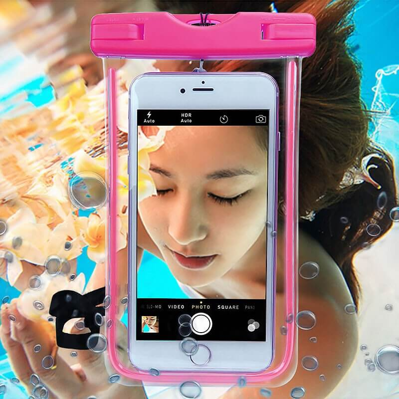 waterproof phone case pouch
