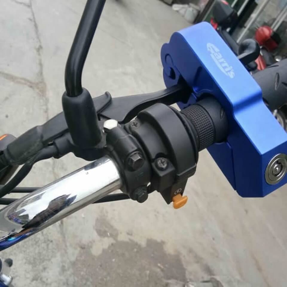 motorcycle safety locks
