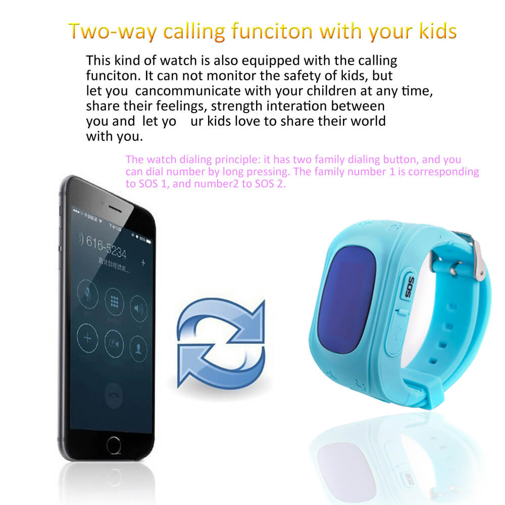 gps smartkid watch