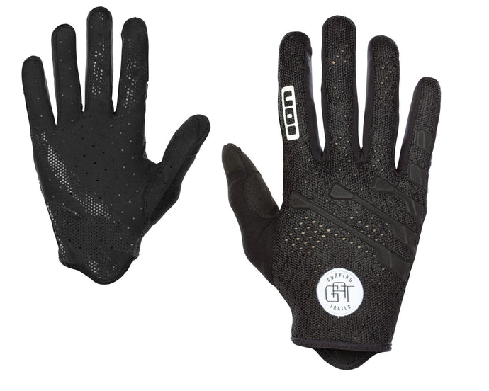 Scrub Amp Bicycle Gloves Black
