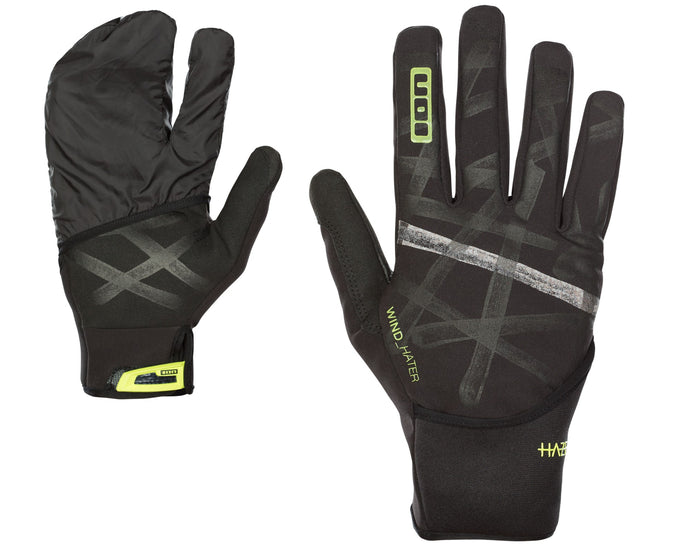HAZE AMP BICYCLE GLOVES BLACK