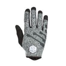Load image into Gallery viewer, Scrub Amp Bicycle Gloves Grey Malange back hand