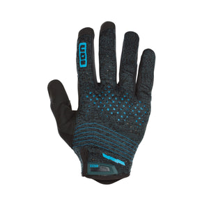 Seek Amp Bicycle Gloves Green Seek back hand