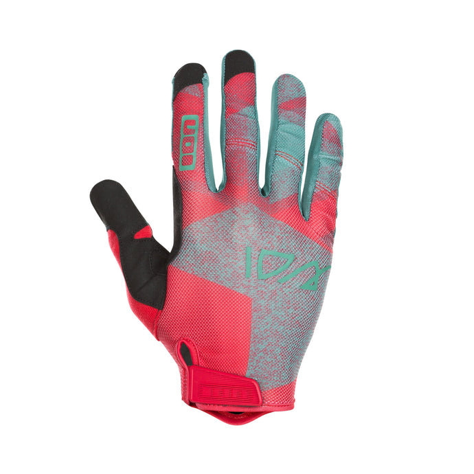 Traze bicycle glove rageous Red back hand