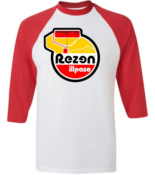 """Rezen/Diablos Tribute"" Men's Baseball Shirt by Rezen Nation"