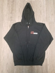 """illmatic Tribute"" Men's Zip-up Hoodie (Black) by illpaso"