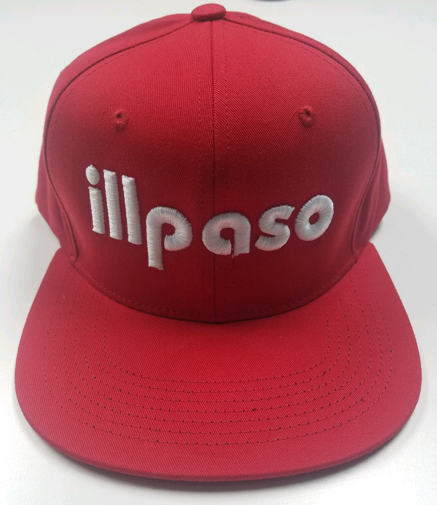 """Diablos Tribute"" Snapback Hat (Red) by illpaso"