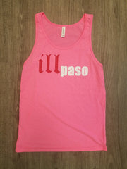 """illmatic Tribute"" Unisex Tank Top (Pink) by illpaso"