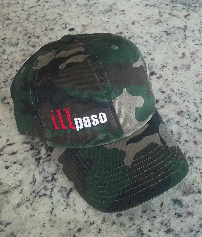 """illmatic tribute"" Camo Dad Hat by illpaso"