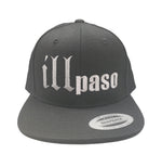 """illmatic Tribute"" Snapback Hat (Black w/ Grey Stitching) by illpaso"