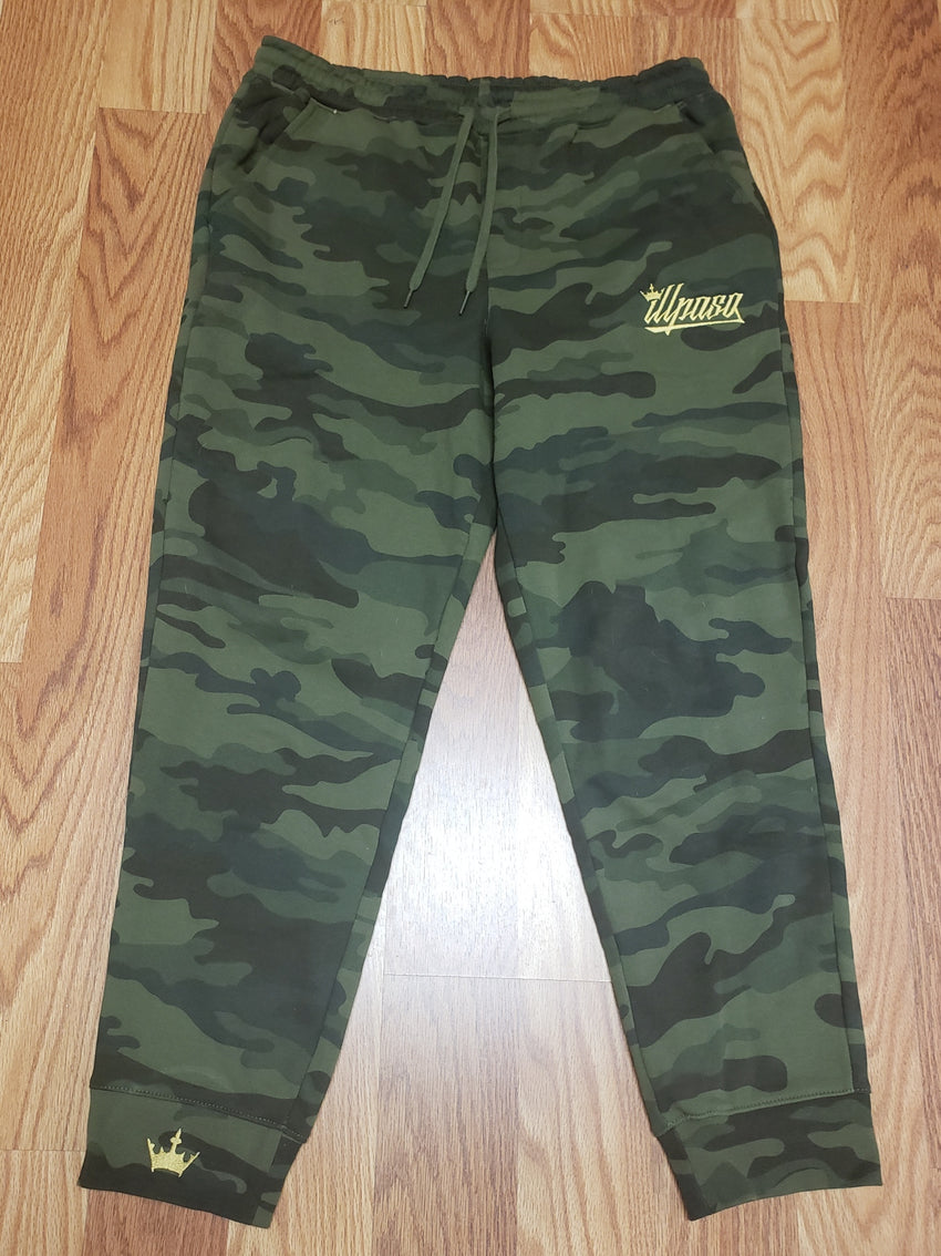 """Crown"" Men's (Camo) Midweight Fleece Jogger Pant"