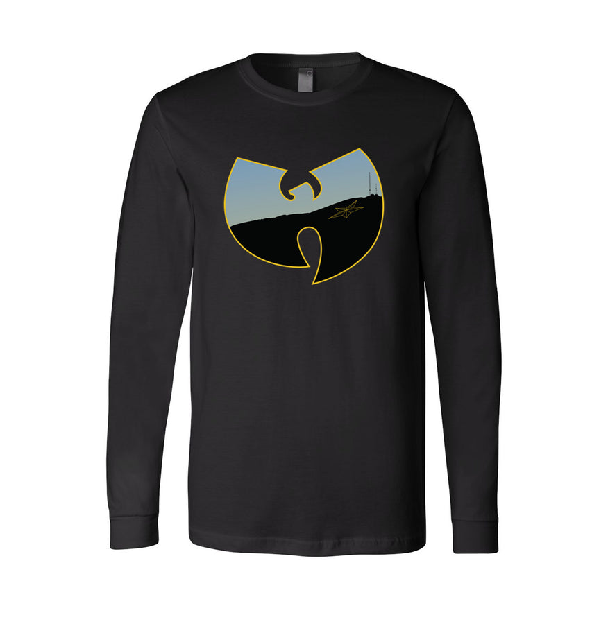 """WU EP"" Unisex Jersey Long Sleeve Tee -  (Black) by Sweet Jesus"