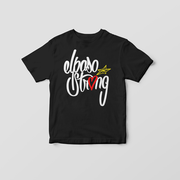 El Paso Strong Youth T-Shirt by Alex Arriaga (LX_1984)