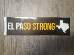El Paso Strong Bumper Sticker by Nic.Nik.Nicko