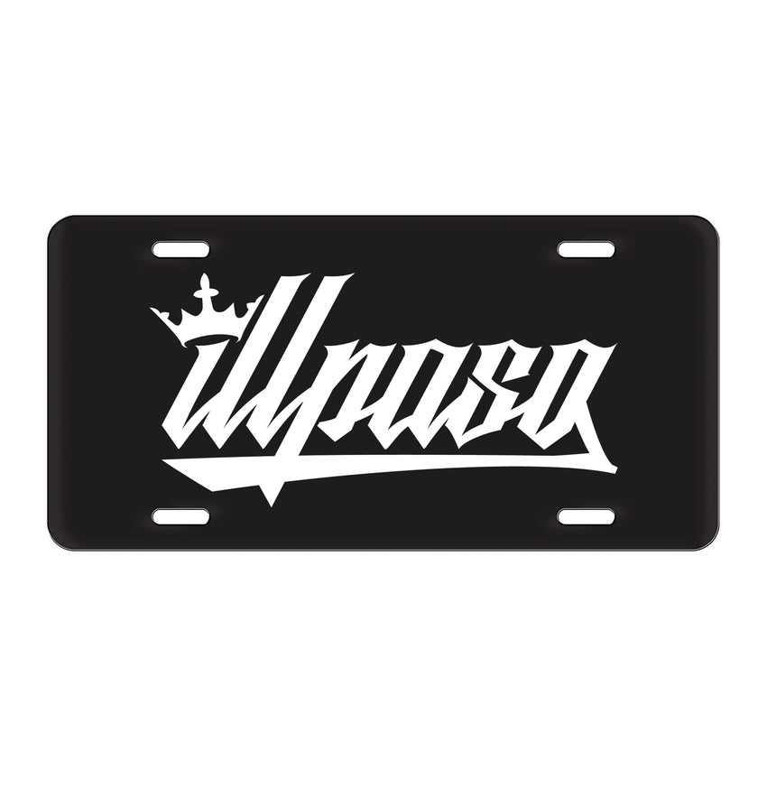 """Crown"" License Plate by illpaso"
