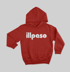 """Diablos Tribute"" Youth Pullover Hoodie (Red) by illpaso"