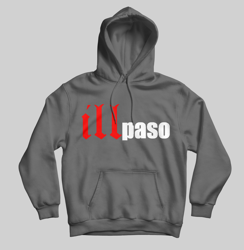 """illmatic Tribute"" Men's Pullover Hoodie (Charcoal Gray) by illpaso"