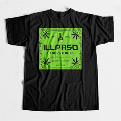 """illpaso Laboratories"" Men's T-shirt (Black) by Lobesmatic"