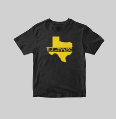 """ill state of mine"" Youth T-shirt (Black) by illpaso"