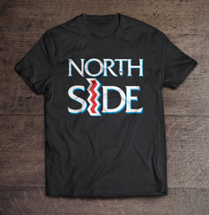 "Northside ""Crooked i"" Men's T-shirt (Black) by Team Dirty Ent"