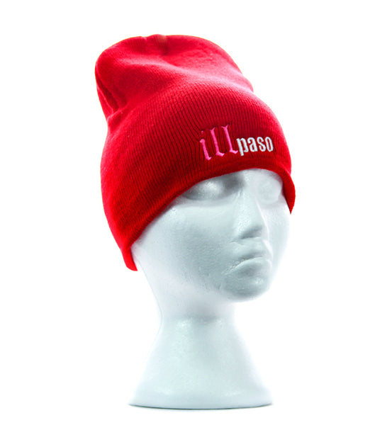 """illmatic Tribute"" Skullie Cap (Red) by illpaso"