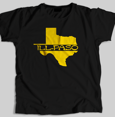 """ill state of mine"" Men's T-shirt (Black) by illpaso"