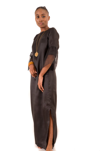 Black Twill Dress