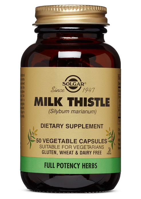 Solgar FP Milk Thistle Vegetable Capsules