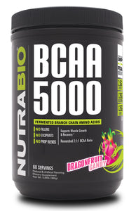 Nutrabio BCAA 5000 Dragon Fruit Candy