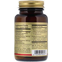 Load image into Gallery viewer, Solgar Reishi Shiitake Maitake Mushroom Extract, 50 Vegetable Capsules