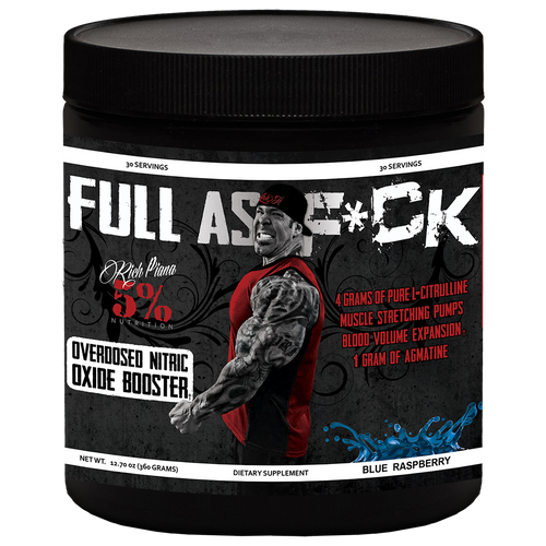 5% Nutrition Full As F*ck Pre Workout