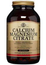 Load image into Gallery viewer, Solgar Calcium Magnesium Citrate 250 Tablets