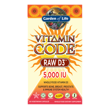 Load image into Gallery viewer, Garden of Life Vitamin Code Raw D3