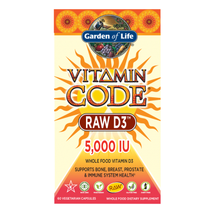 Garden of Life Vitamin Code Raw D3
