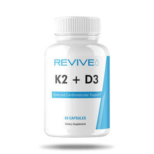 Revive MD K2 + D3 Bone and Cardiovascular Support- 60 Capsules