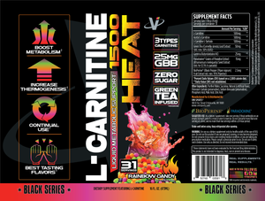 VMI SPORTS L-Carnitine 1500 HEAT Liquid  Metabolic Support