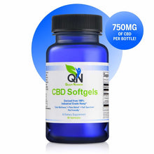 Load image into Gallery viewer, Quality Nutrition CBD Softgels