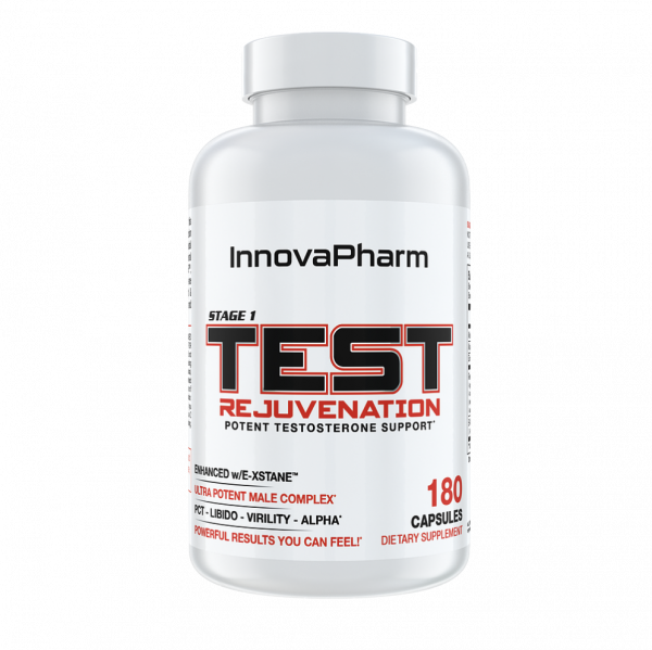 InnovaPharm Stage 1 Test Rejuvenation Testosterone Booster 180