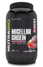 Load image into Gallery viewer, NutraBio 100% Micellar Casein Protein