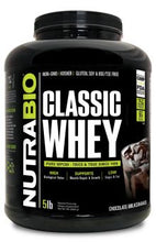 Load image into Gallery viewer, NutraBio Classic Whey Protein