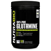 Load image into Gallery viewer, NutraBio 100% Pure Glutamine